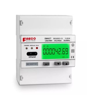 EM427 120240V 10(100)A single phase three wire digital smart electricity meter  Buy single