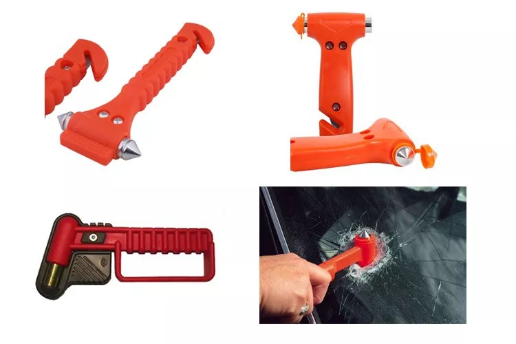 Safety equipment for car emergency auto tool hammer
