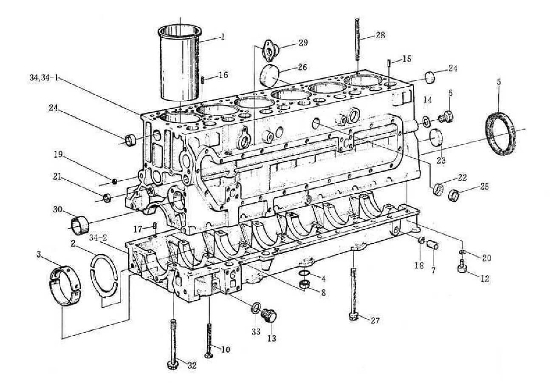 Weichai Engine Parts China Truck Weichai Engine Parts