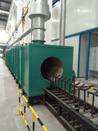LPG Cylinder Heat Treatment Furnace Unit