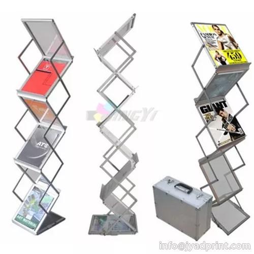 high quality portable acrylic catalogue shelf magazine display rack stand brochure holder product on hefei jingyi image printing co ltd