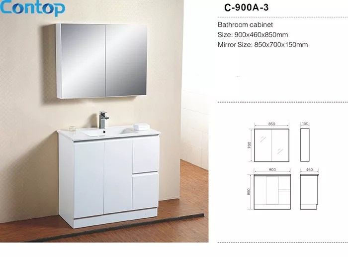 Quality Bathroom Vanity Mdf Wood Modern Bathroom Cabinet C900a 3 Buy Bathroom Cabinet Washing Cabinet Vanity Product On Foshan Contop Bathroom Co Ltd