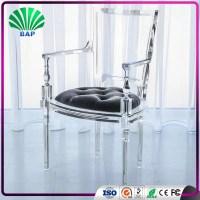 Royal crystal acrylic makeup chair elegant dining chair ...