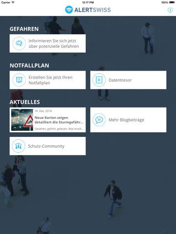 """""""Alertswiss"""" für iPhone, iPod touch und iPad im App Store ..."""