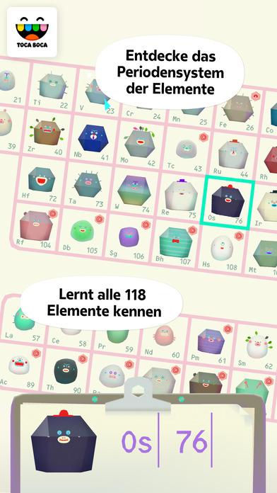 Toca Lab: Elements Screenshot