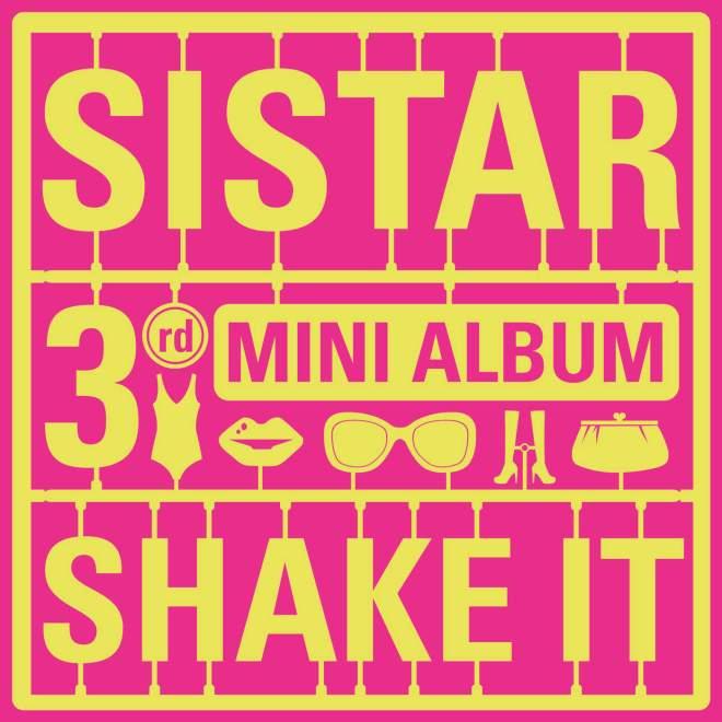 SISTAR - Shake It - EP