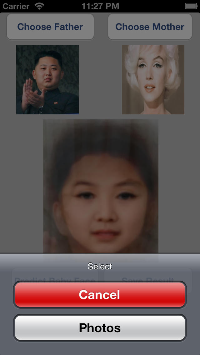 predict baby face apps