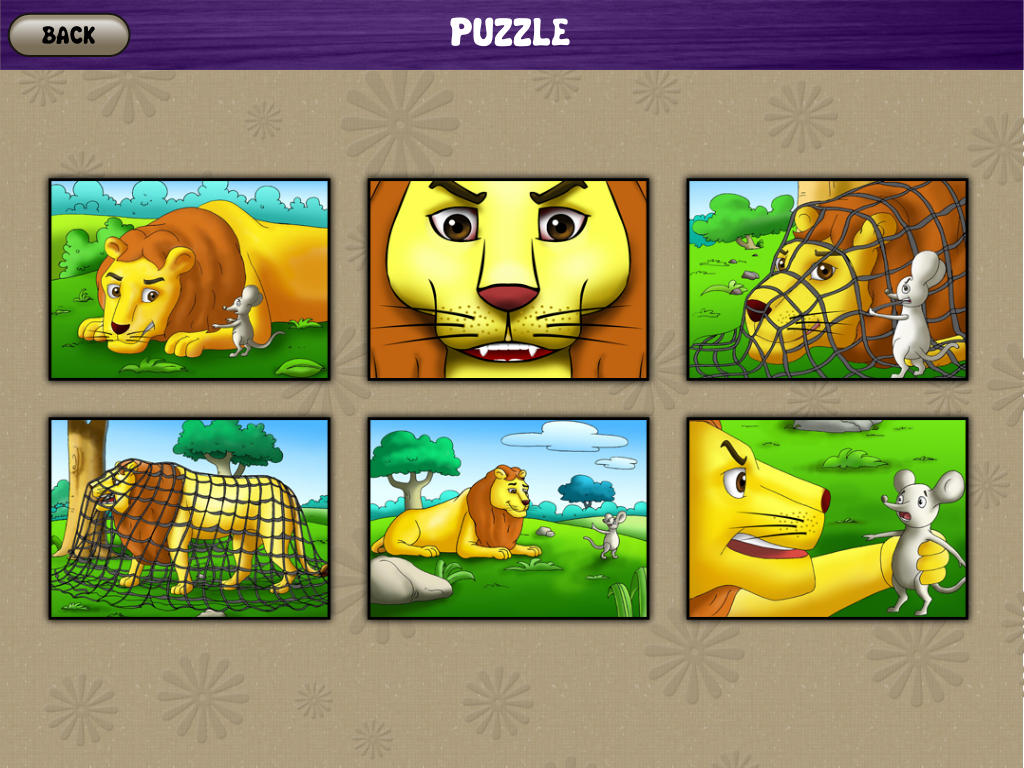 App Shopper Lion And Mouse Interactive Storybook Ipad