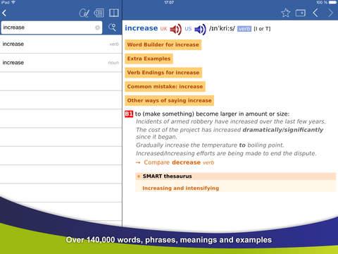 Cambridge English Dictionary (iPad) reviews at iPad Quality Index