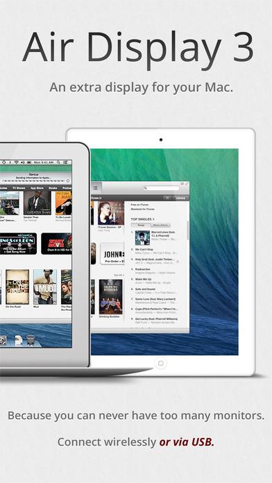 Screenshot do app Air Display 3