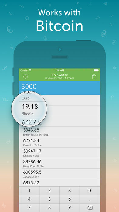 Coinverter – The Currency Converter iPhone