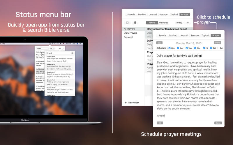 Bible for Mac 3.7.2 激活版 - 圣经阅读应用
