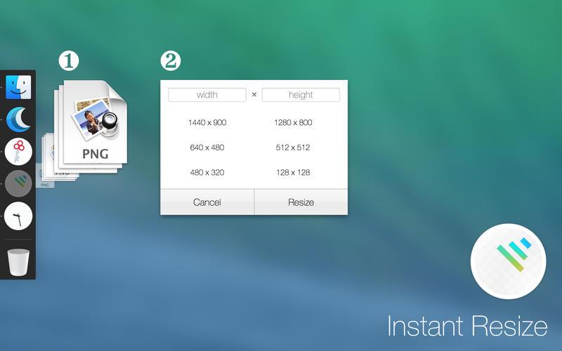 Instant Resize for Mac 1.2.2 破解版 - 图片尺寸调整工具