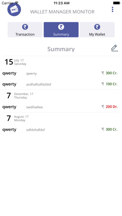 My Wallet Expense Manager Por Brijesh Vadukia