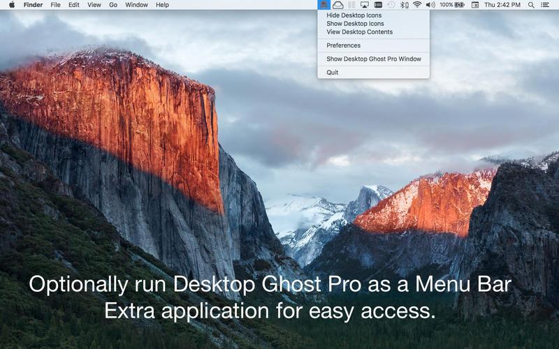 Desktop Ghost Pro for Mac 1.5.2 激活版 - 桌面幽灵、桌面整理工具
