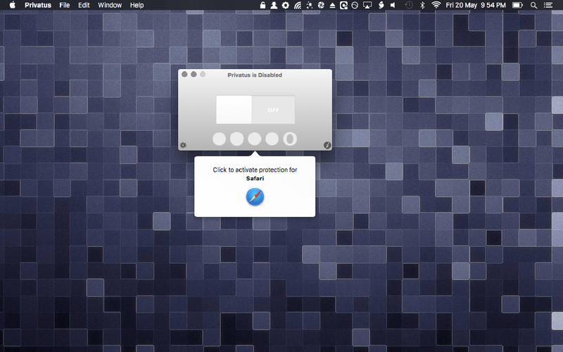 Privatus for Mac 5.0.8 激活版 - 浏览会话后自动清除个人隐私