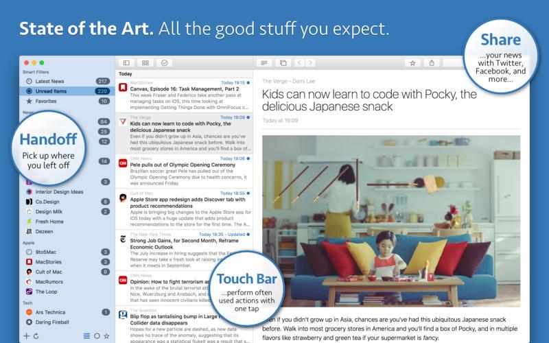 News Explorer for Mac 1.4.3 激活版 - 优秀的新闻订阅客户端