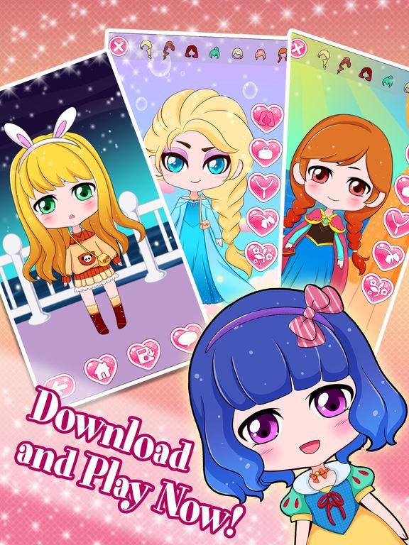 app shopper chibi anime