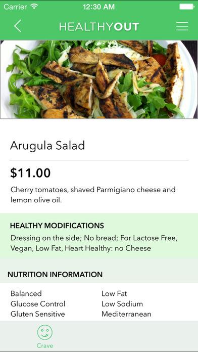 HealthyOut healt app