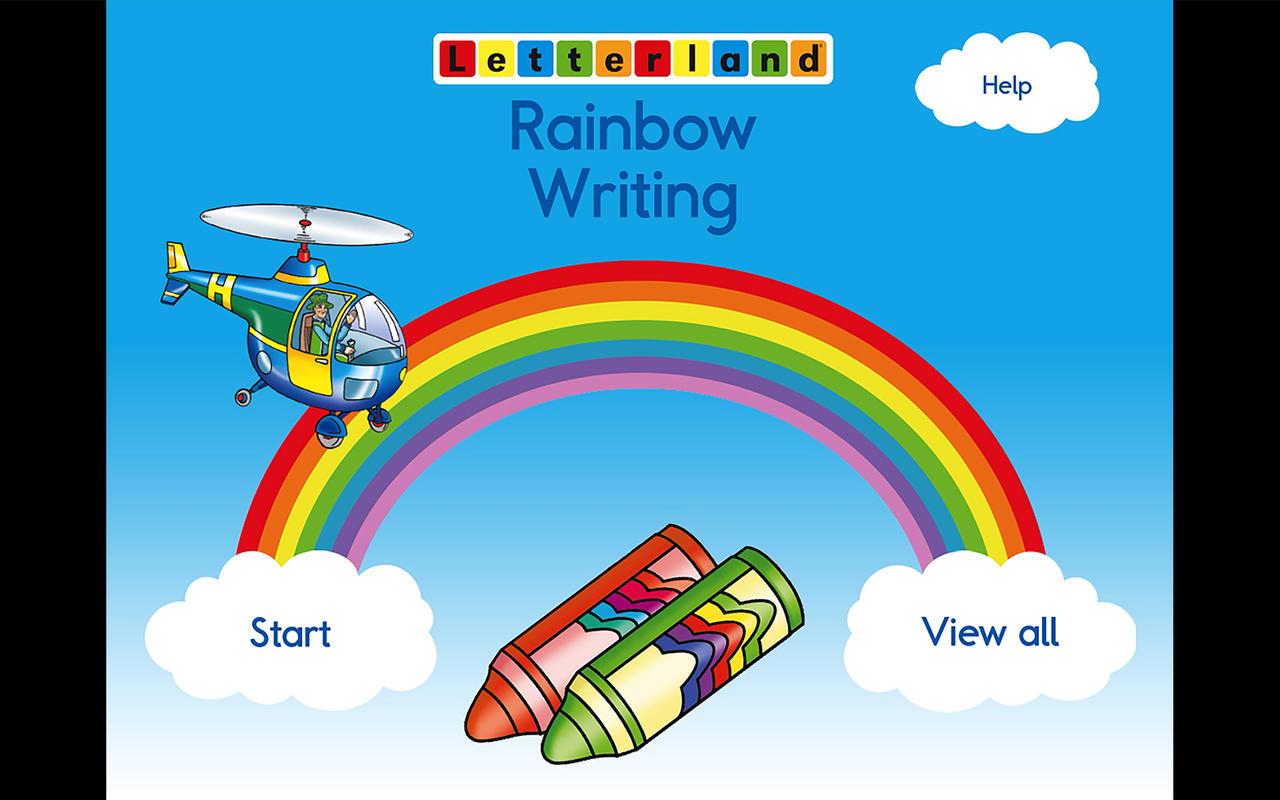 App Shopper Letterland Rainbow Writing