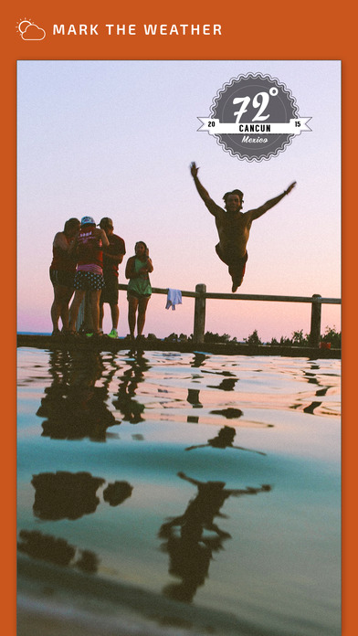 GoMark - Mark your Photos with Location, Weather, Date, Time & Altitude iPhone