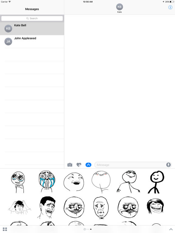 Troll Face Stikers Pack for iMessage por Alexander Ninth