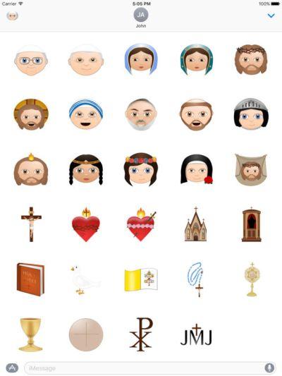 App Shopper: Catholic Emoji (Lifestyle)