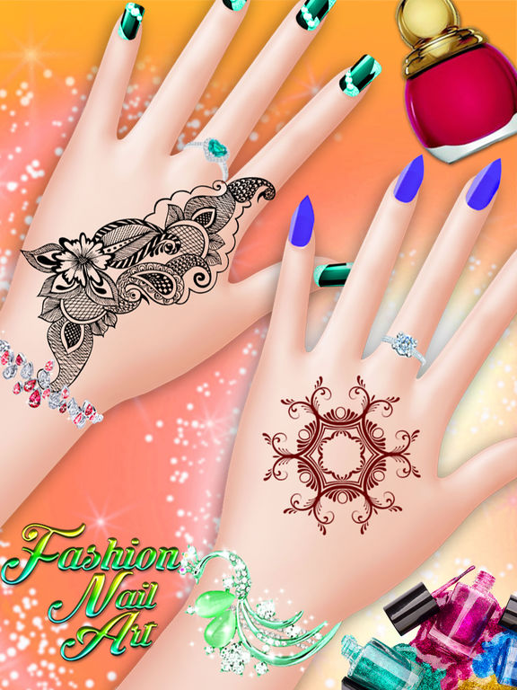 Girls Game Nails : girls, nails, Fashion, Manicure, Beauty, Salon, Kids,, Teens, Girls, 148Apps