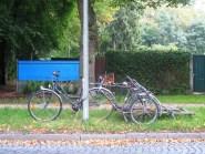 laternenparker fahrrad