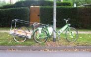 strasse fahrrad abstellen