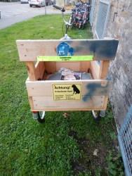 hundetransport fahrrad