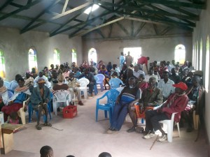 Baragoi Baptist Church Dedication