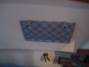 Aft overhead curtain