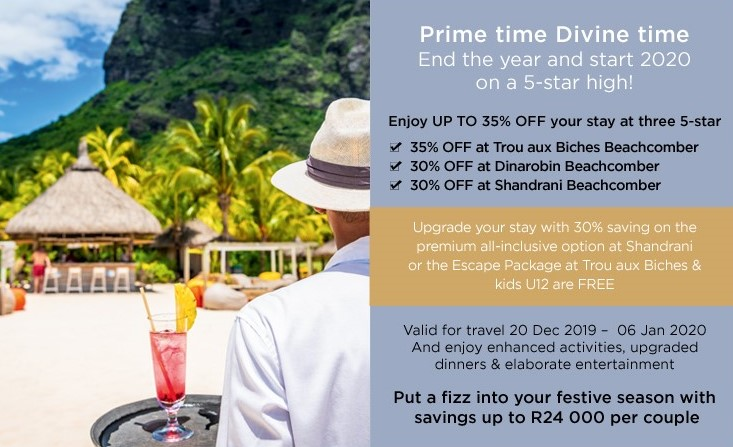 Mauritius – 30% off