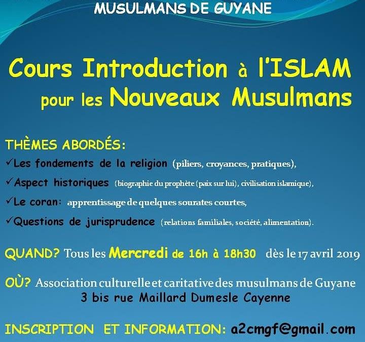 Accompagnement des nouveaux musulmans