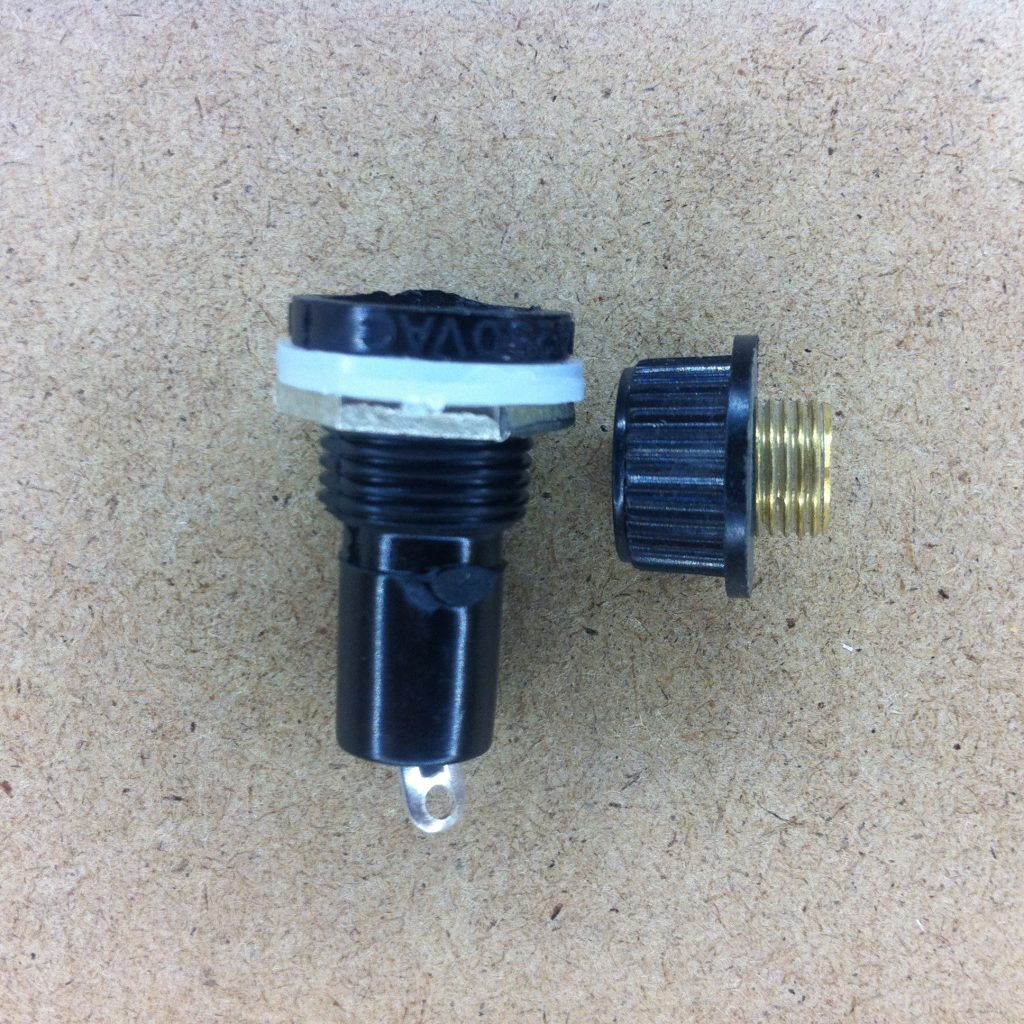 Inline Fuse Holder for 5x20mm Fuse - A2D Electronics