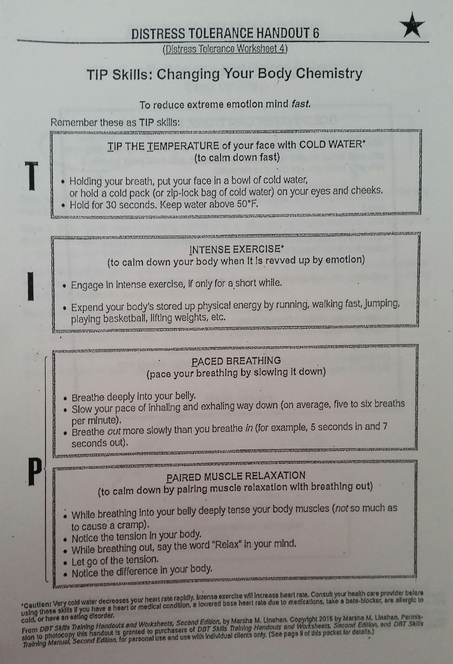 Survival Scenarios Worksheet