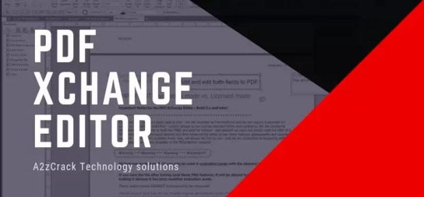 PDF Xchange Editor Crack [2019] - Latest + Keygen