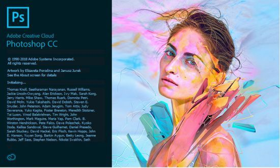 Adobe Photoshop CC 2018 v19.1.7.16293 (x64) Crack + Mac