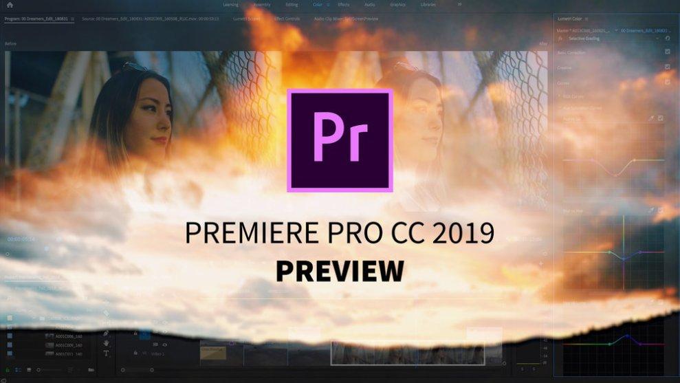 Adobe Premiere Pro CC 2019 Free Download macOS