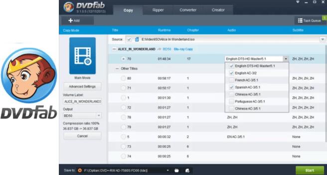 DVDFab 11.0.0.9 Crack Mac + Windows With {Torrent/Patch} 2019