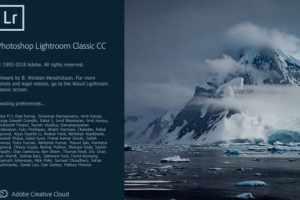Adobe Photoshop Lightroom Classic CC 2019 v8.2.1.10 With Crack