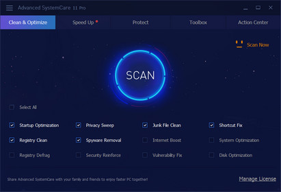 Advanced SystemCare Pro 12.3.0.335 Crack With License Key Full Free
