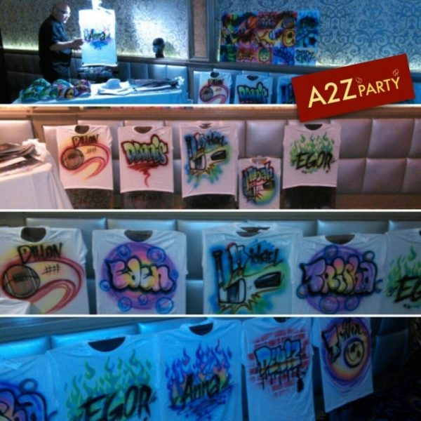 Airbrush Artist Party - Great Teens Kids
