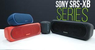 Sony SRS-XB20 wireless speakers series