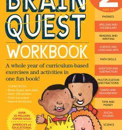 Brain Quest Workbook: Grade 2 - A2Z Science \u0026 Learning Toy Store [ 2560 x 1793 Pixel ]