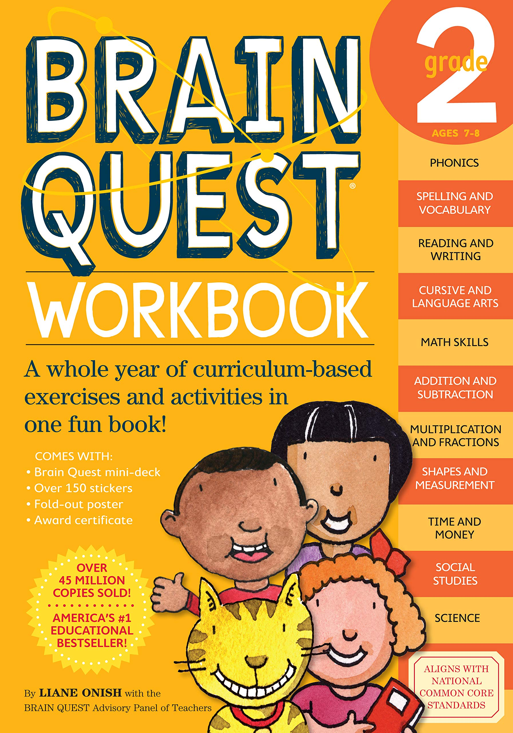hight resolution of Brain Quest Workbook: Grade 2 - A2Z Science \u0026 Learning Toy Store
