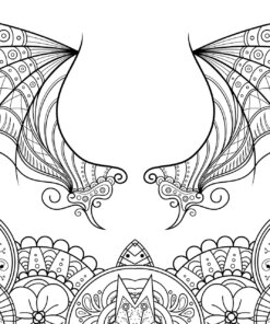 My Mystical Wonderland: Art Therapy Coloring Book for