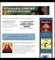 Step by Step Singing Lessons
