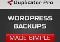 Simpel wordpress backup